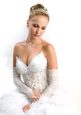 Χειροποίητο κόσμημα νύφης για γάμο