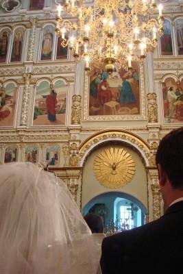 Θρησκευτικός γάμος σε εκκλησία
